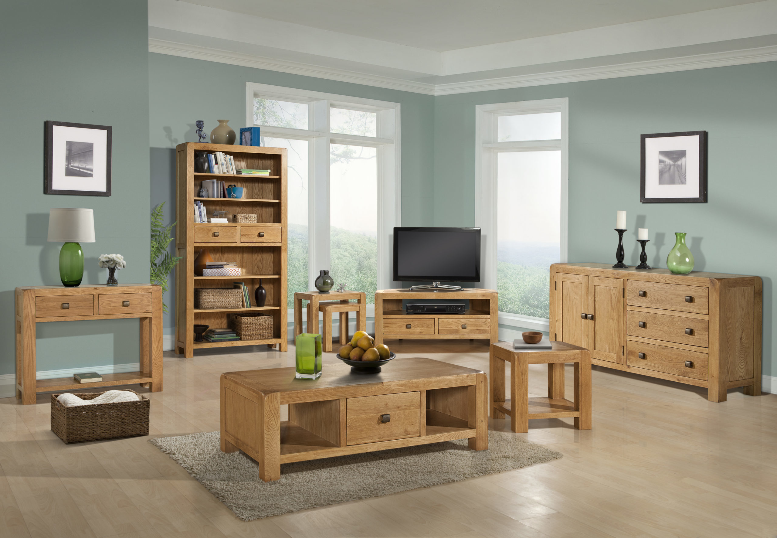 image of room set for Avon Oak collection