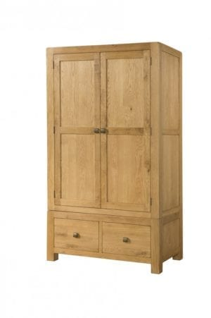 Avon Oak 2 Drawer DAV035