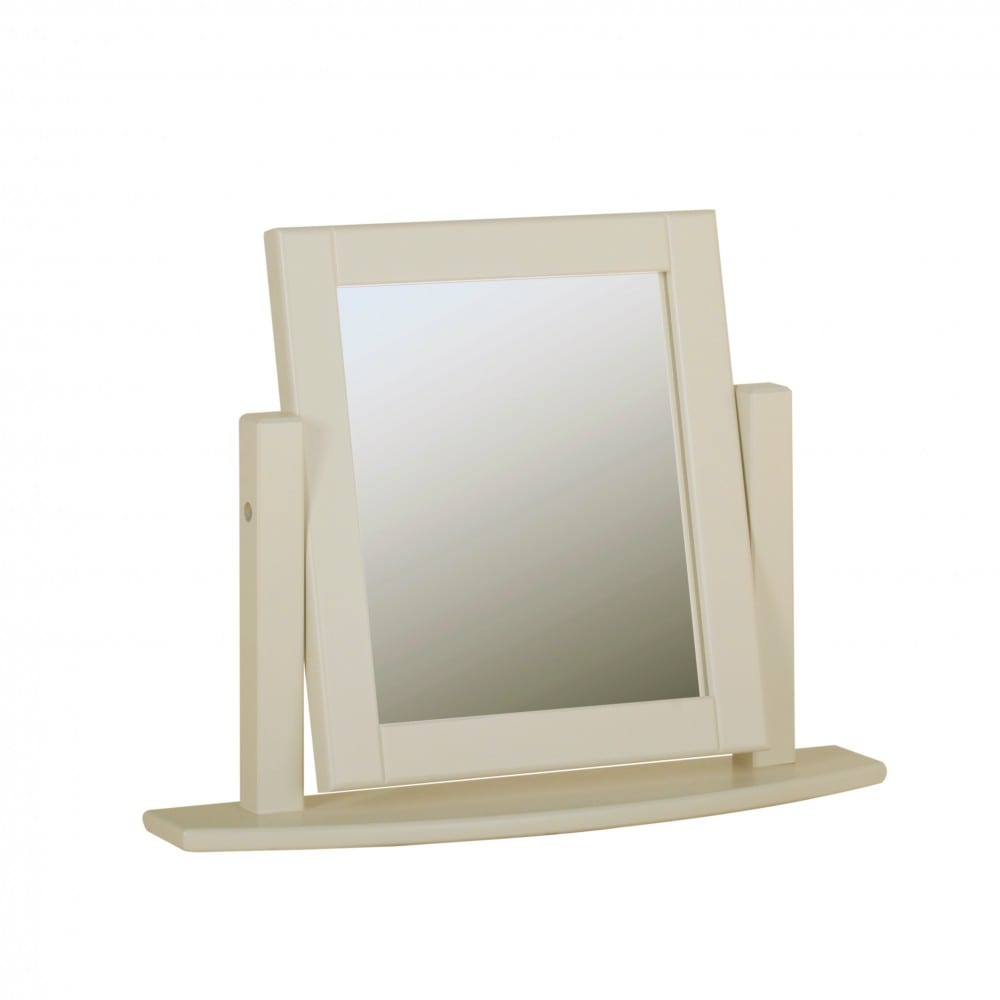 lundy painted single mirror. various colours available LM05