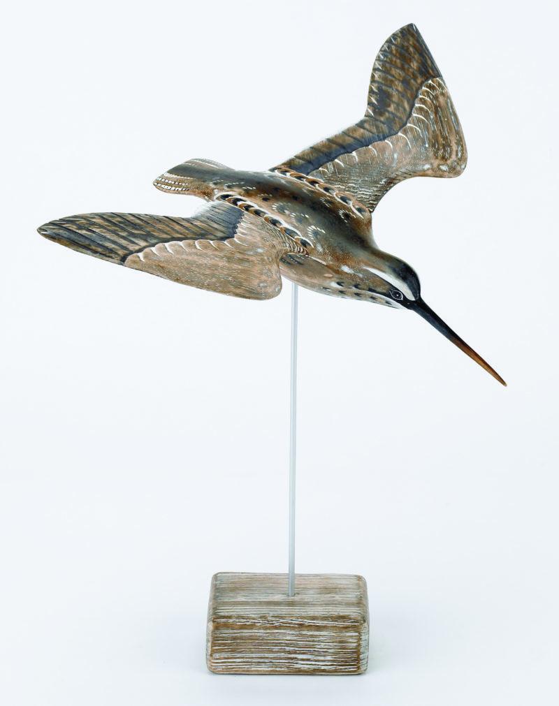 Archipelago Snipe Flying Wood Carving Edmunds Amp Clarke