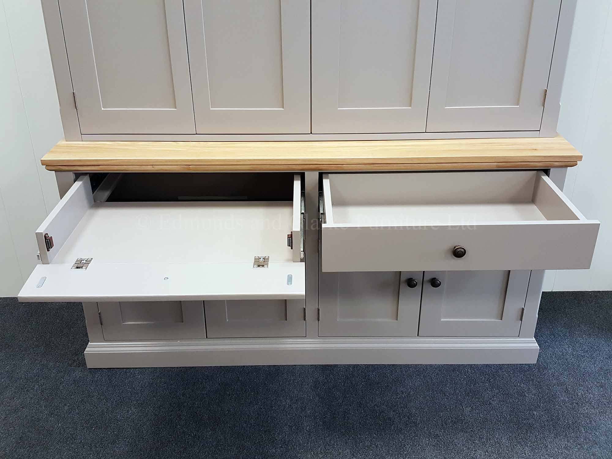 Edmunds television plasma cupboard to hide it all away