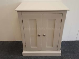 Painted 2 Door Cupboards. available in many sizes, colour options and handle options