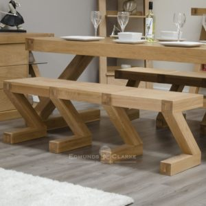 Z style bench made for matching table ZLGBENCH