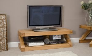 TV plasma unit Z shape designer quality ZPLAS