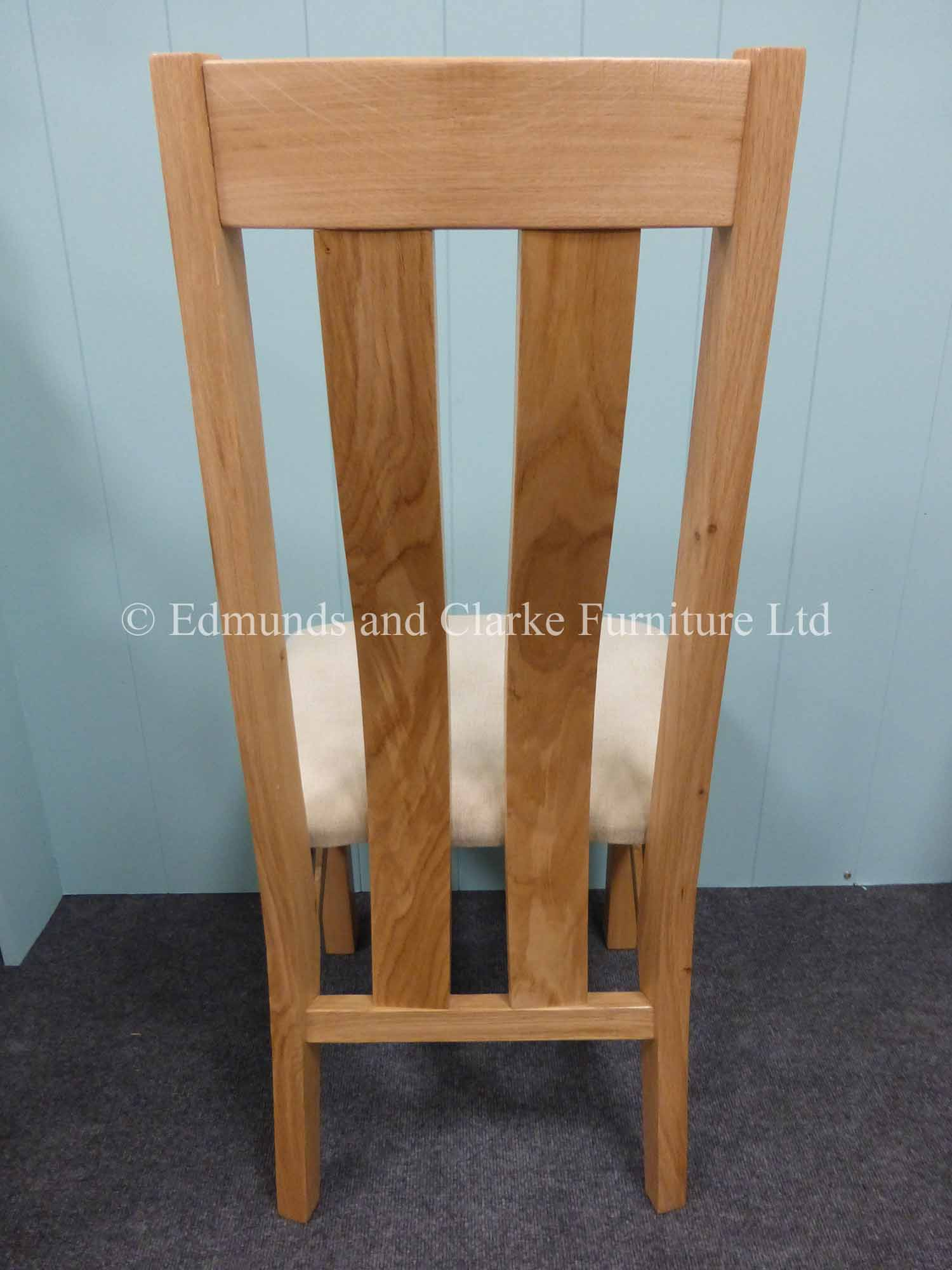 Harris oak dining chair contemporary style