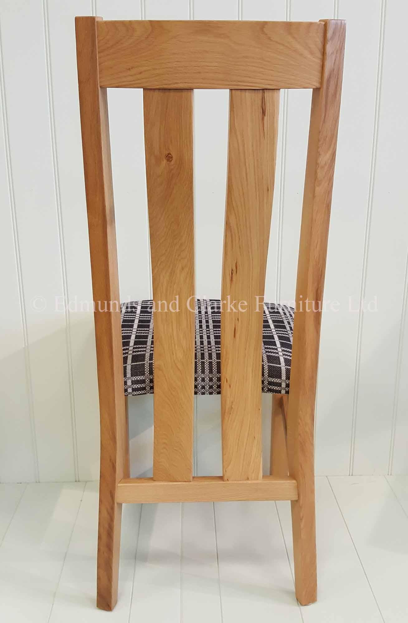 Edmunds harris oak dining chair