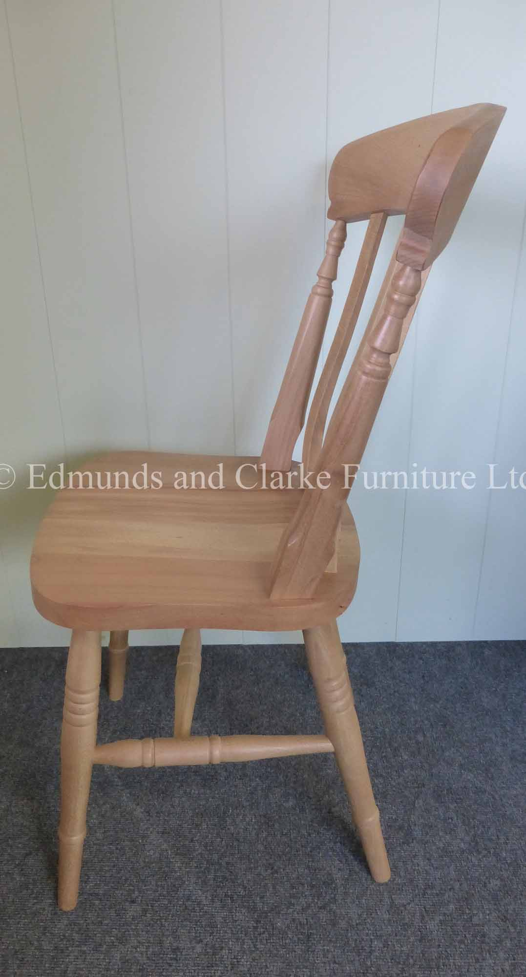 Farmhouse slat side chair
