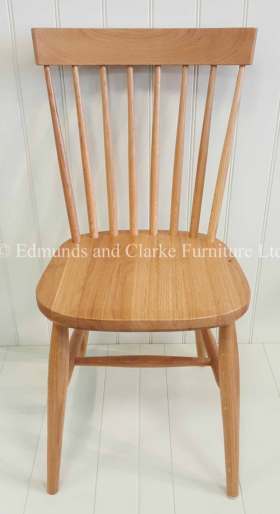 Edmunds nordic oak scandinavian style dining chair