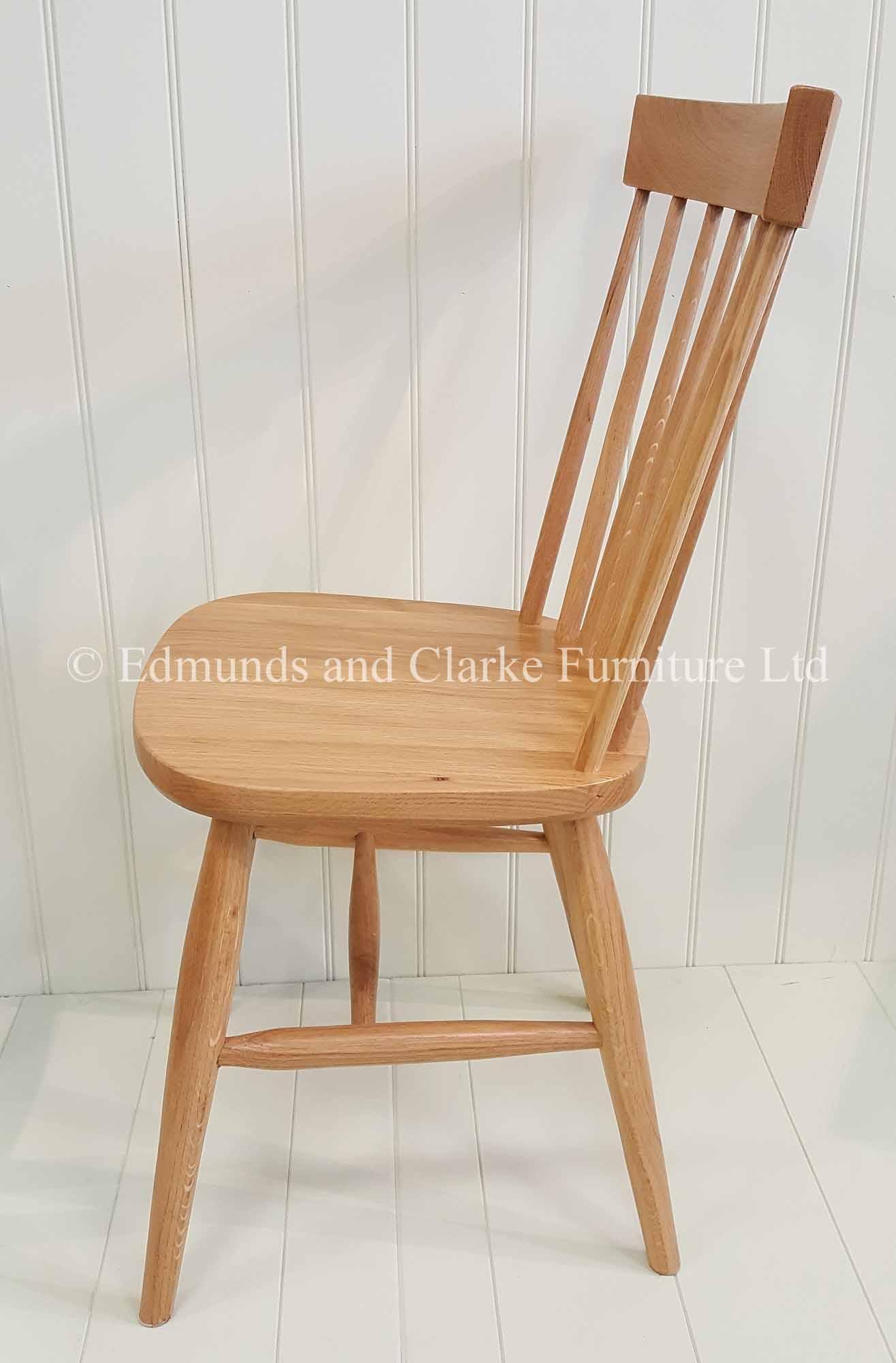 Nordic oak chair