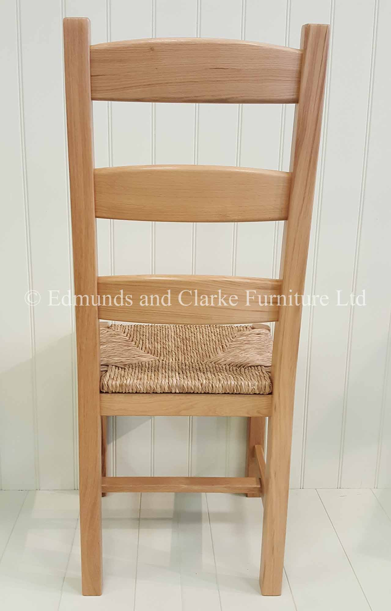 Provence oak dining chair