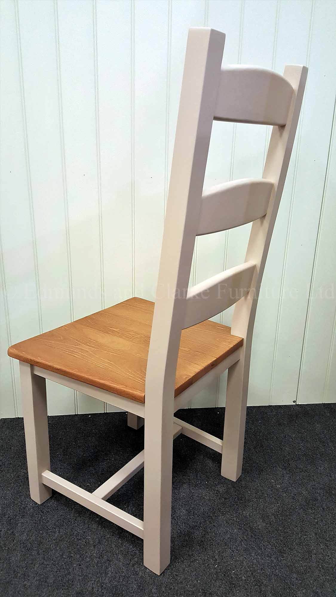 Amish dining chair painted in a range of colours