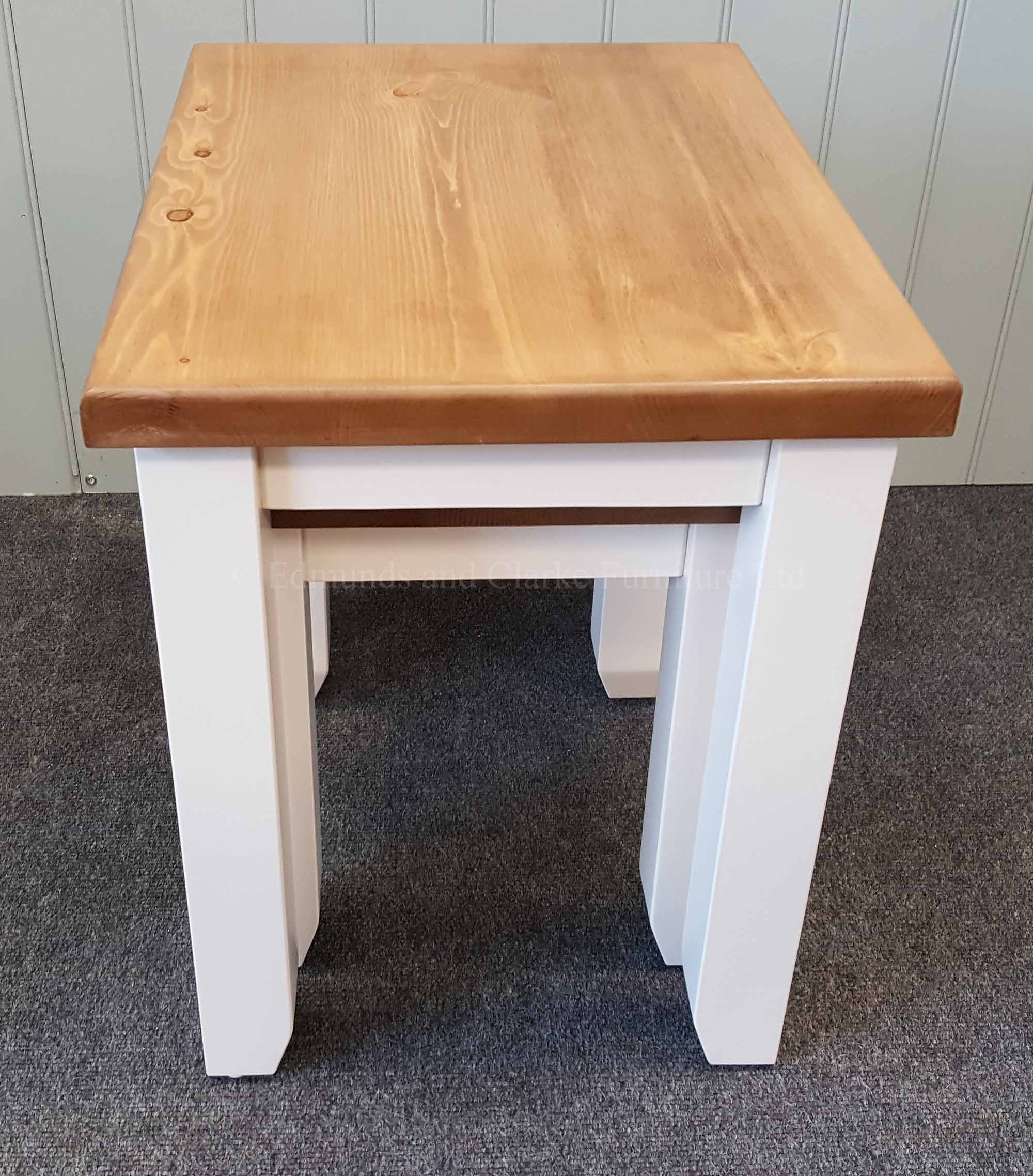 Nest of two tables painted in a choice of colours and tops