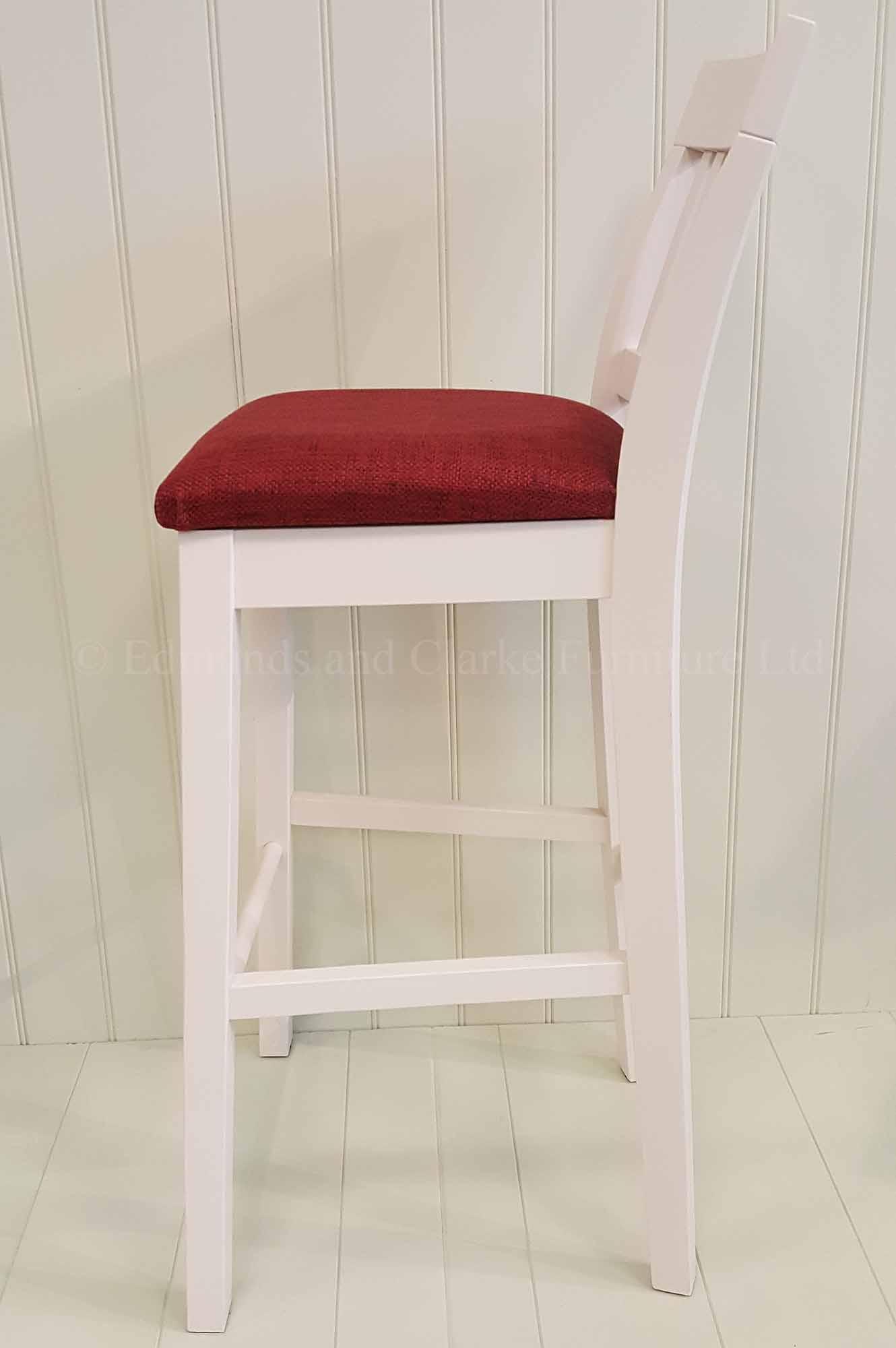 Linden painted kitchen bar stool