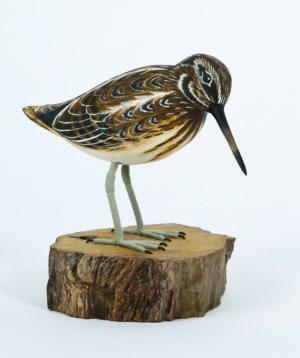 Archipelago Jack Snipe Wood Carving
