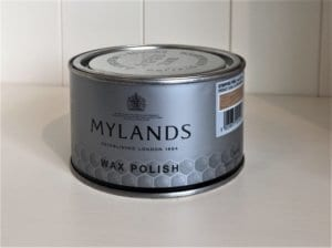 Tin of Mylands Stripped Pine Wax Polish