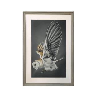 bella art barn owl limited edition