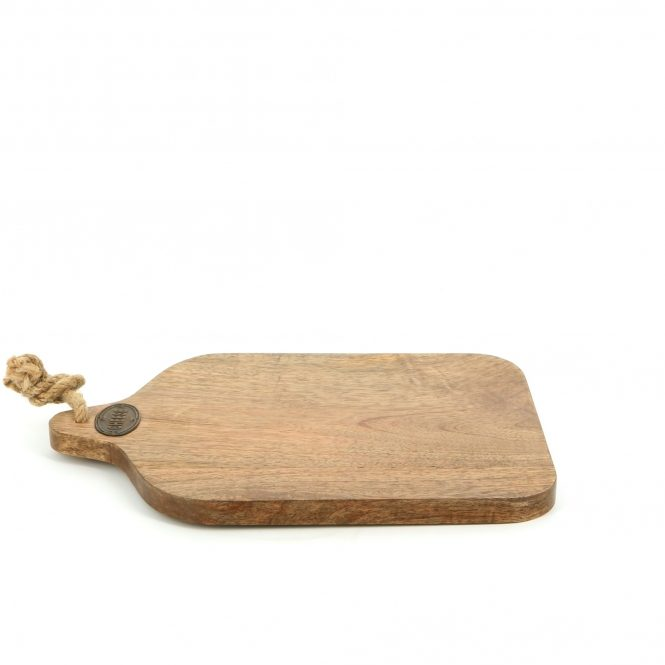 country kitchen cheese board with rope handle side 781206