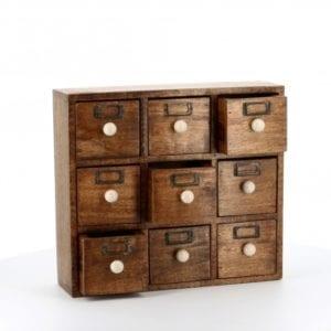 county-kitchen 9 drawer cabinet