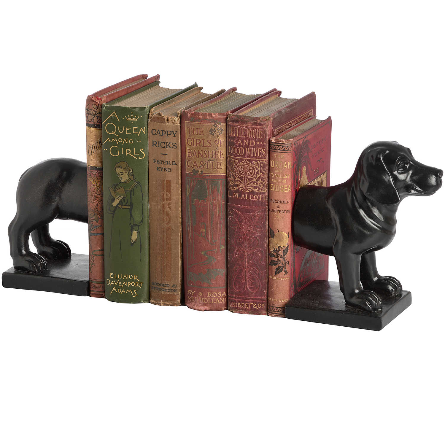 6478 dog book ends image