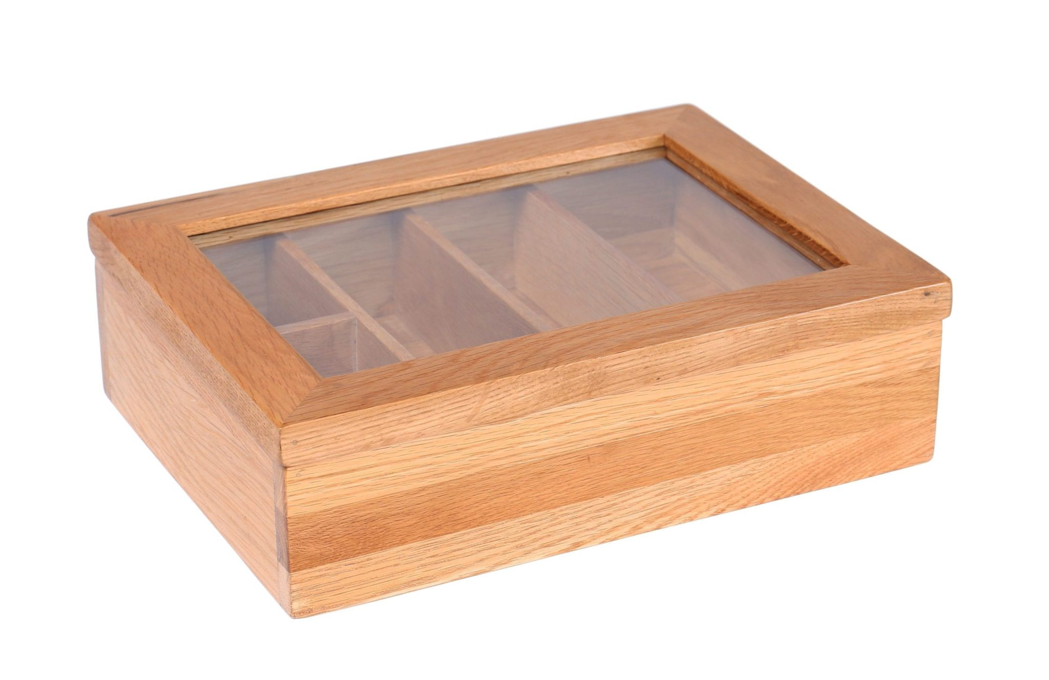 LER003 oak Cutlery box 4