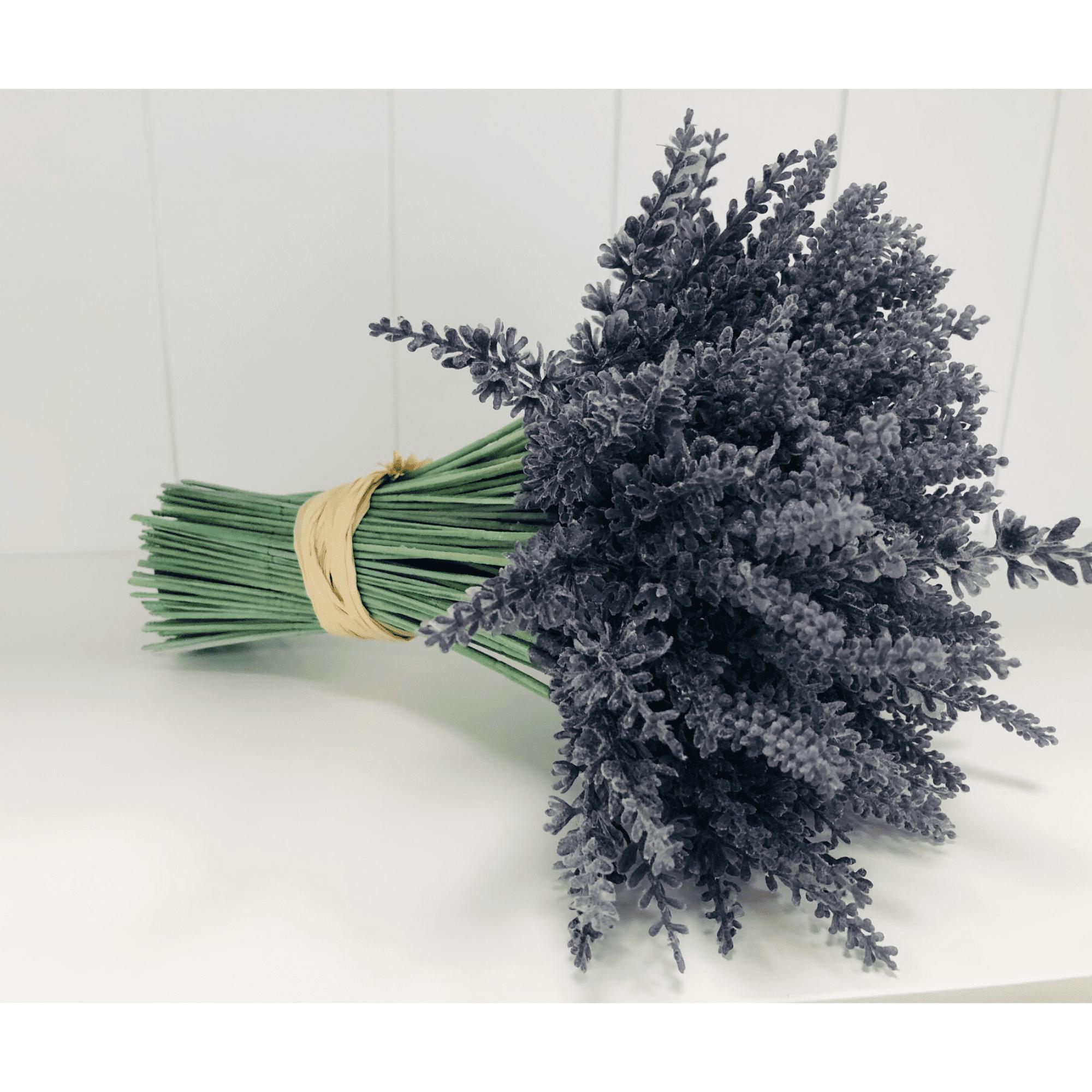 Lavender Bunch faux