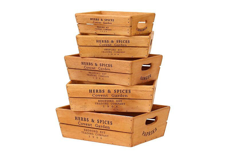 BX027 HS Oyster boxes herbs and spices side stack