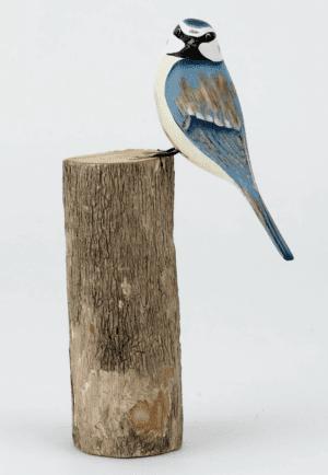 D306 Archipelago blue tit carving