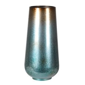 FBA085 Two Tone metal dry vase