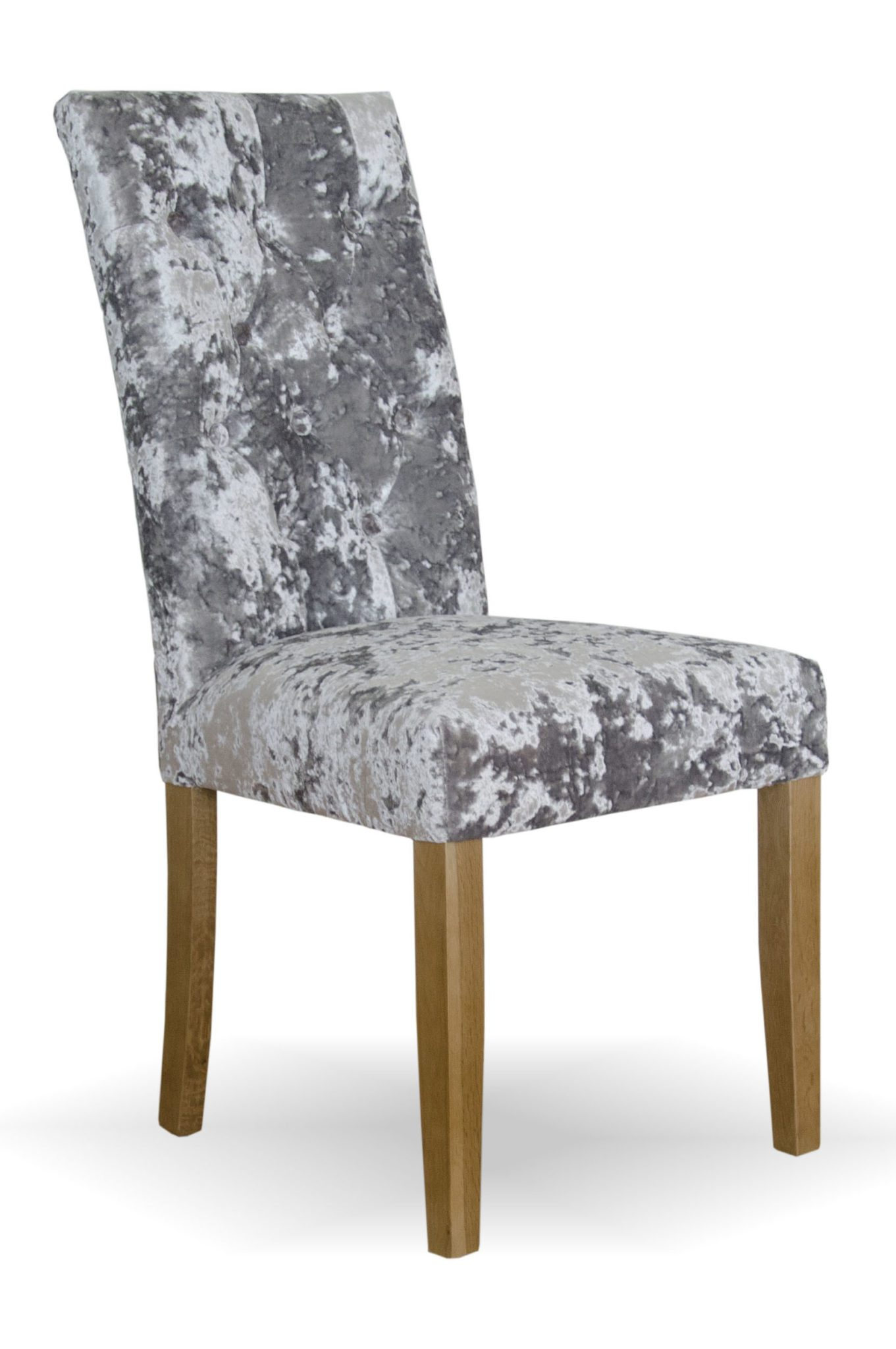 Stockholm chair - deep crushed silver 1