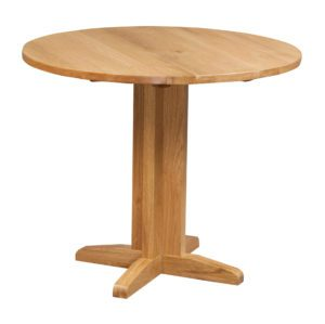 Dorset Drop Leaf Table 30cm to 90cm in light oak finish