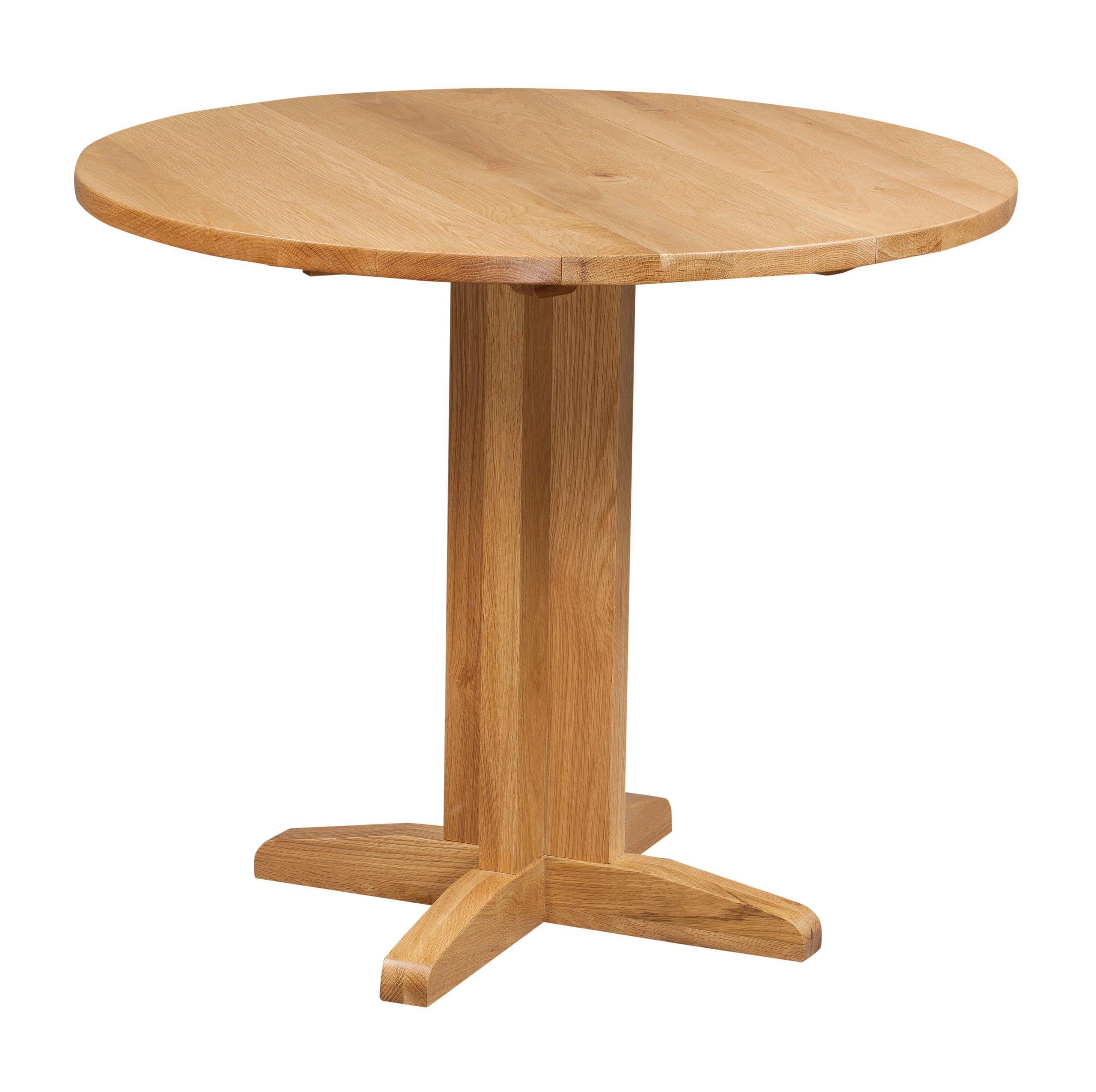 Dorset Drop Leaf Table 30cm to 90cm in light oak finish