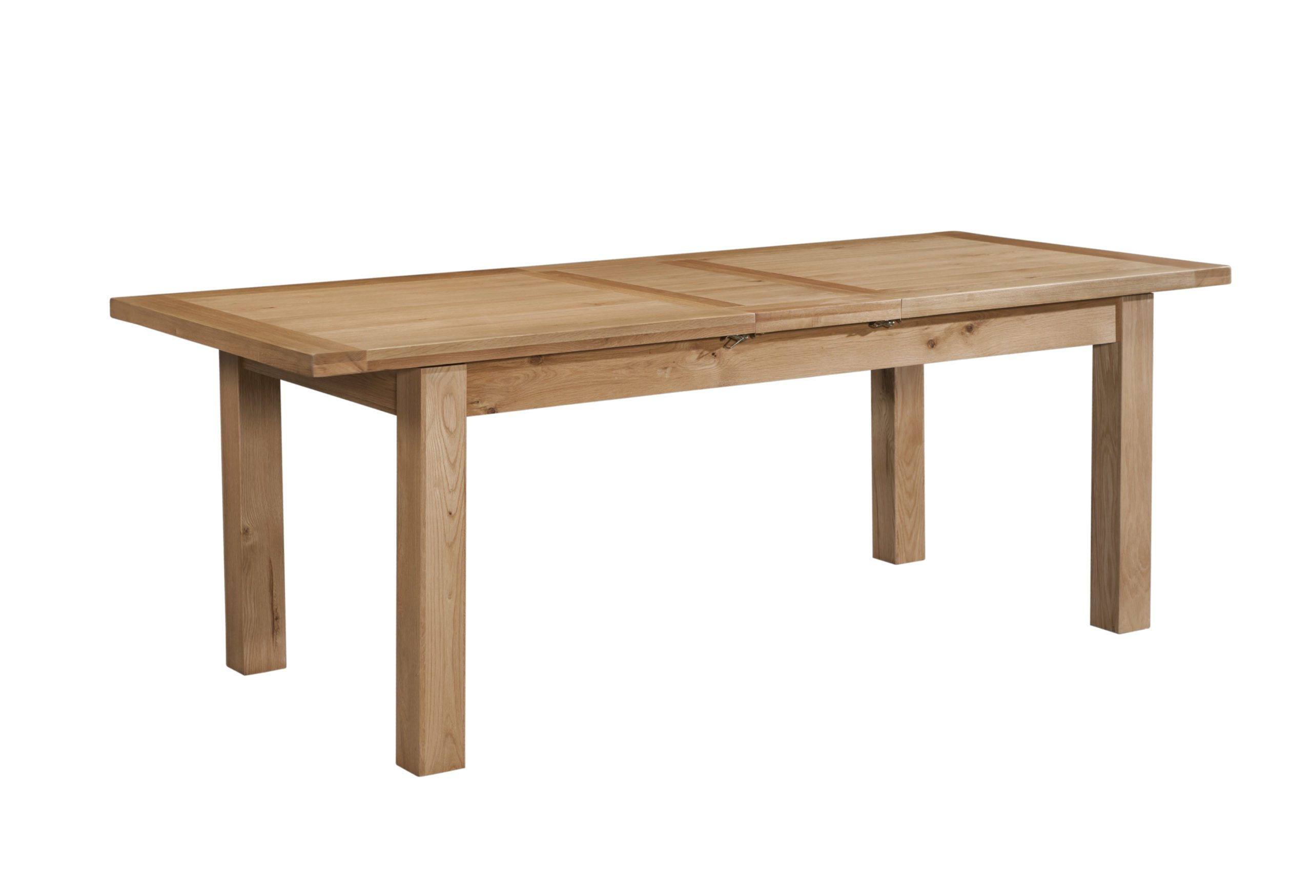 Dorset Oak DOR095Laage Extending table with 2 leaves