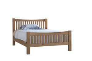 Dorset oak double bed