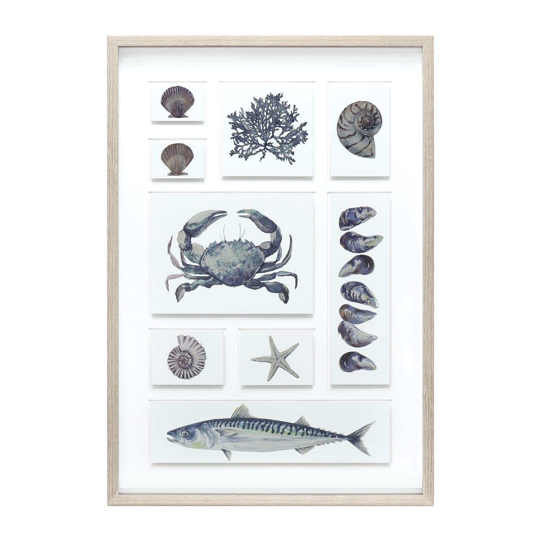 AMS00113 Coastal Art Framed art