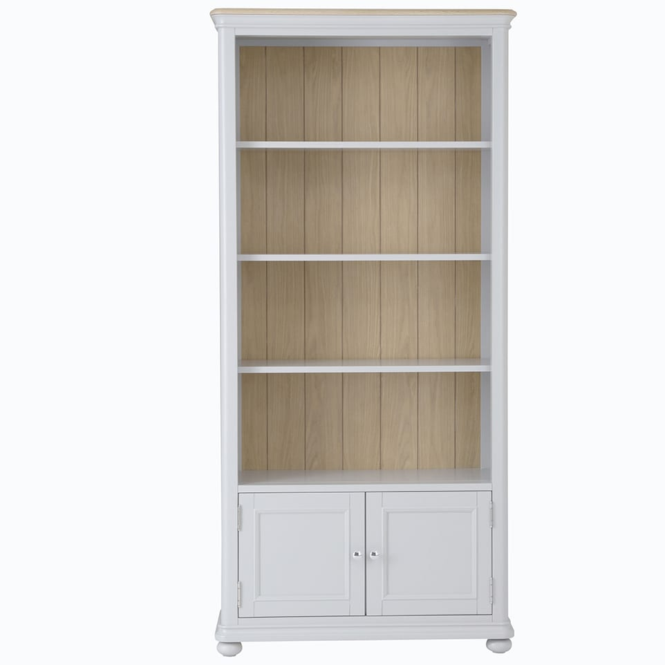 Cavendish large bookcase with doors