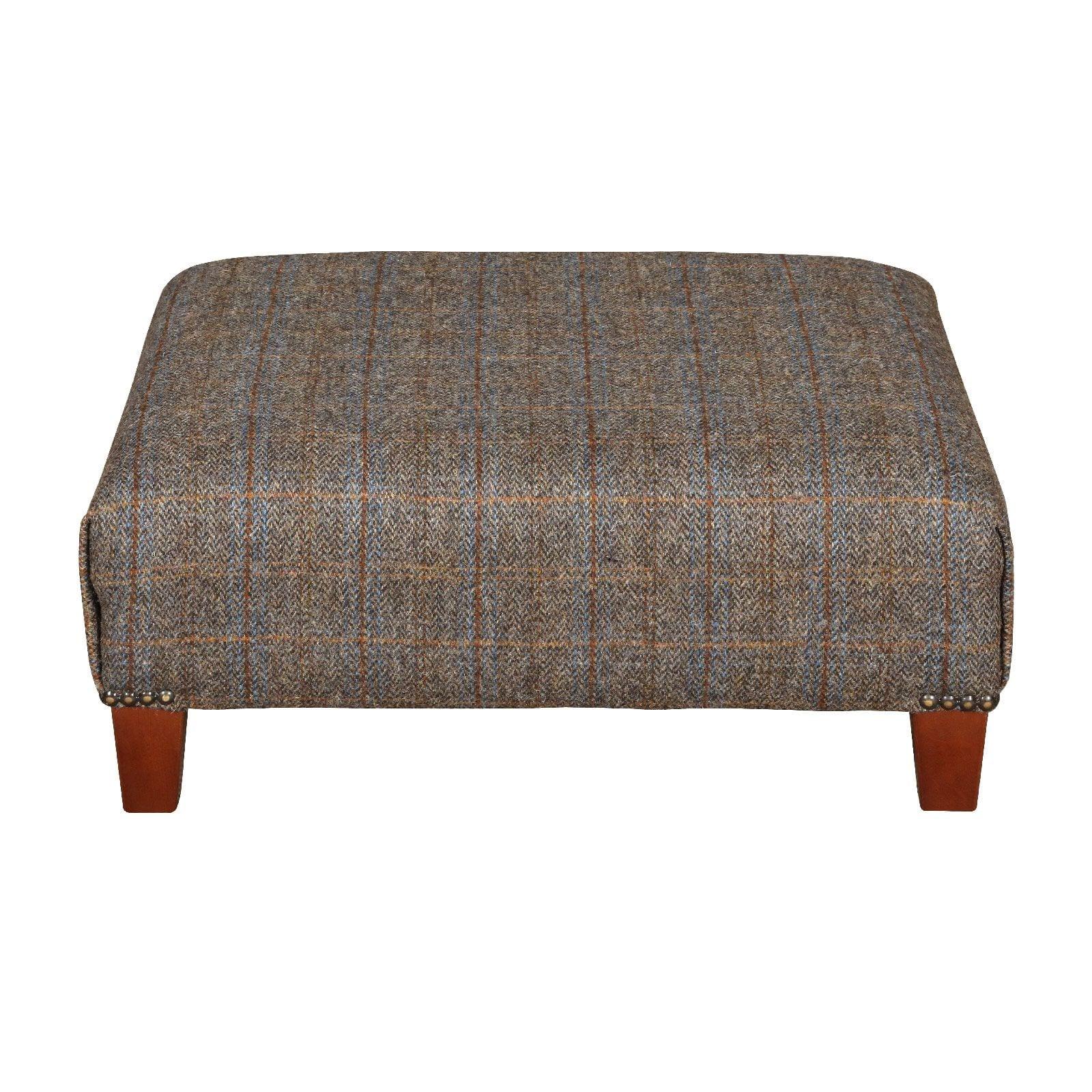 Kensington pull out stool plain