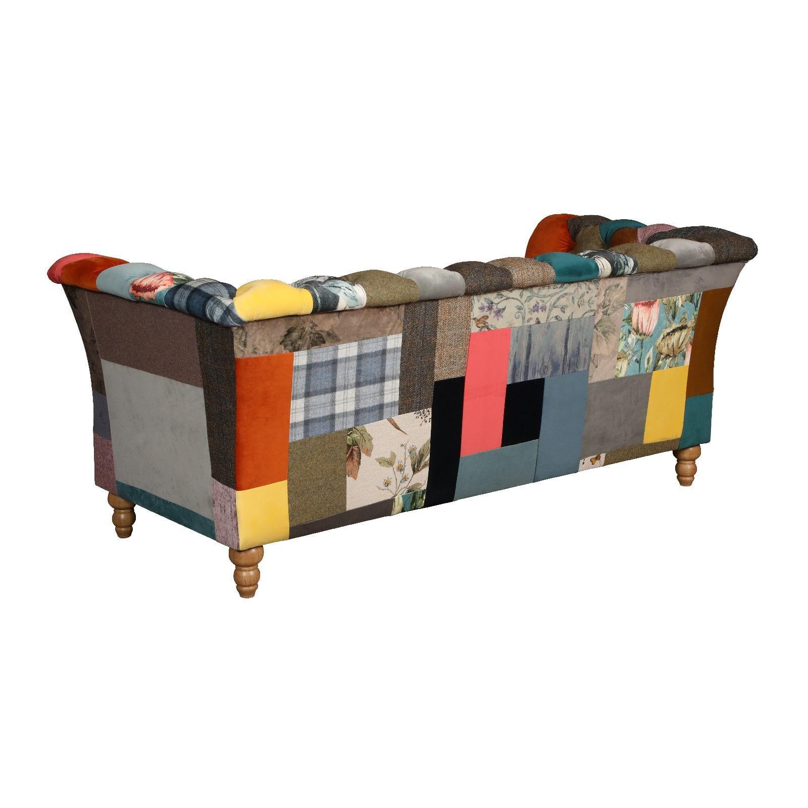 Rutland patchwork sofa