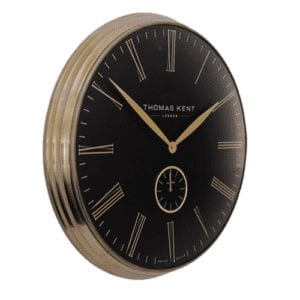 "Thomas Kent 28""greewich timekeeper grand bronze blk"