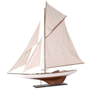 Large wooden sailboard CZT009
