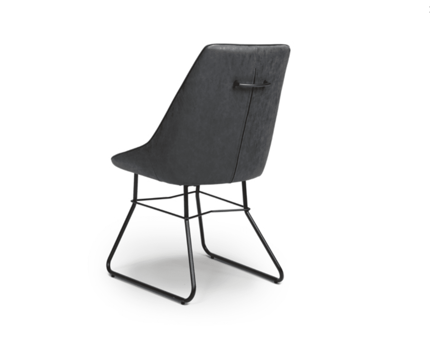 Cooper chair wax grey back