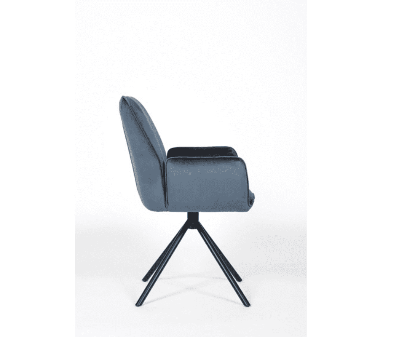 UNO chair blue side