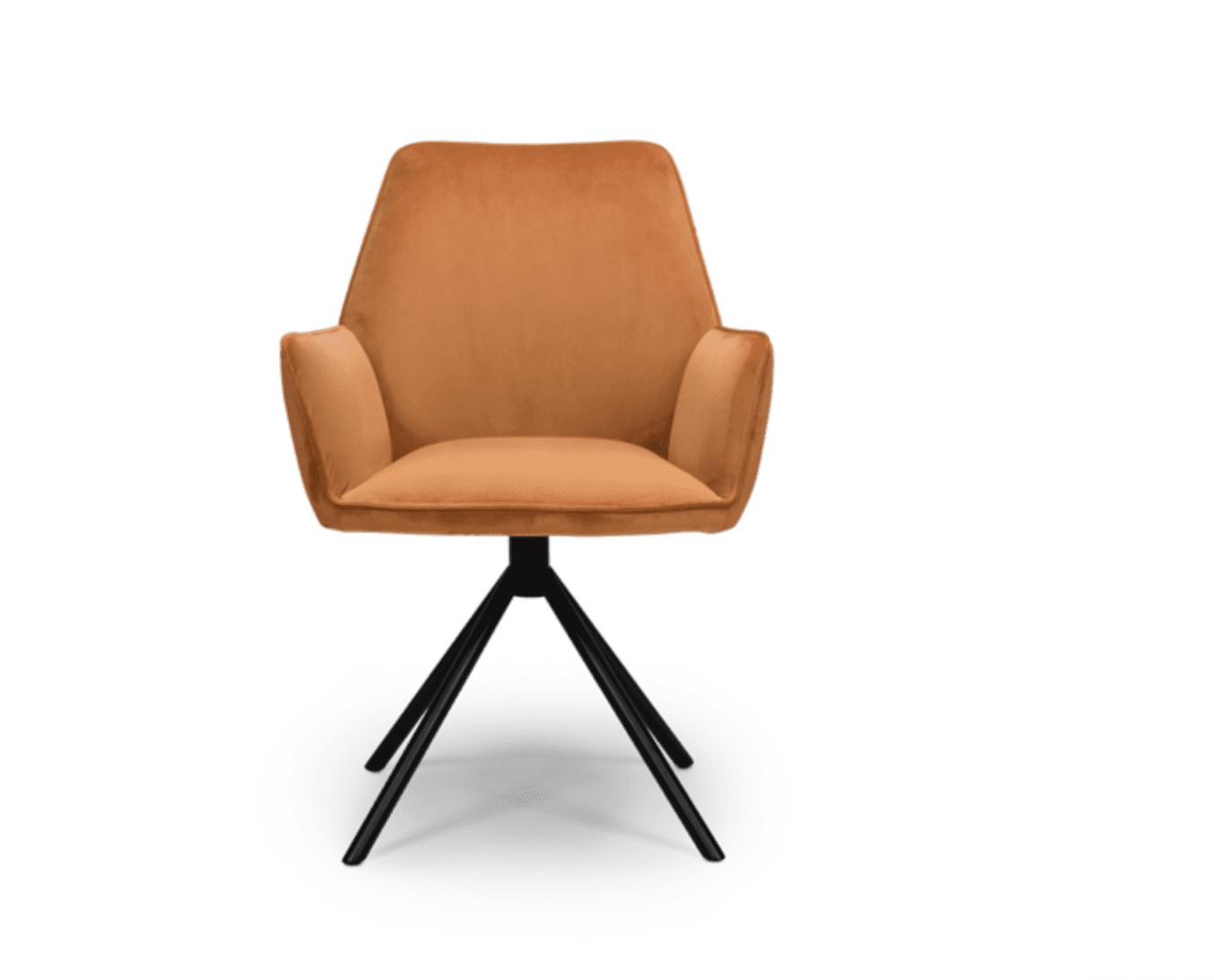 UNO chair burnt orange