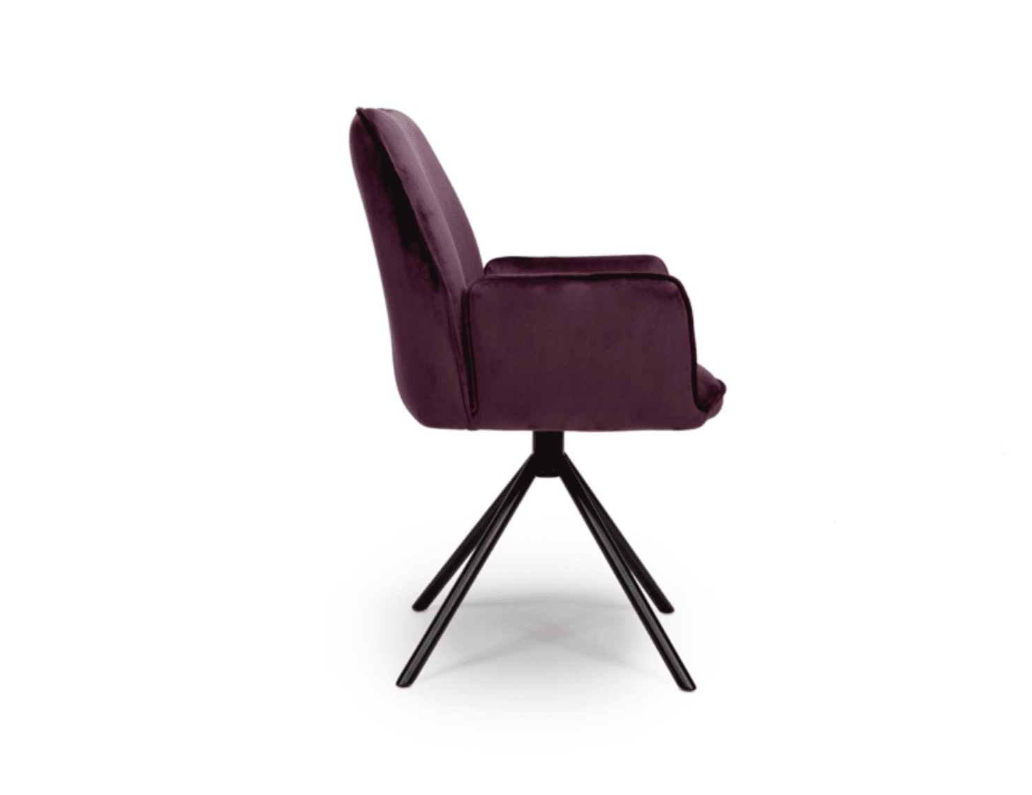 UNO chair mulberry side