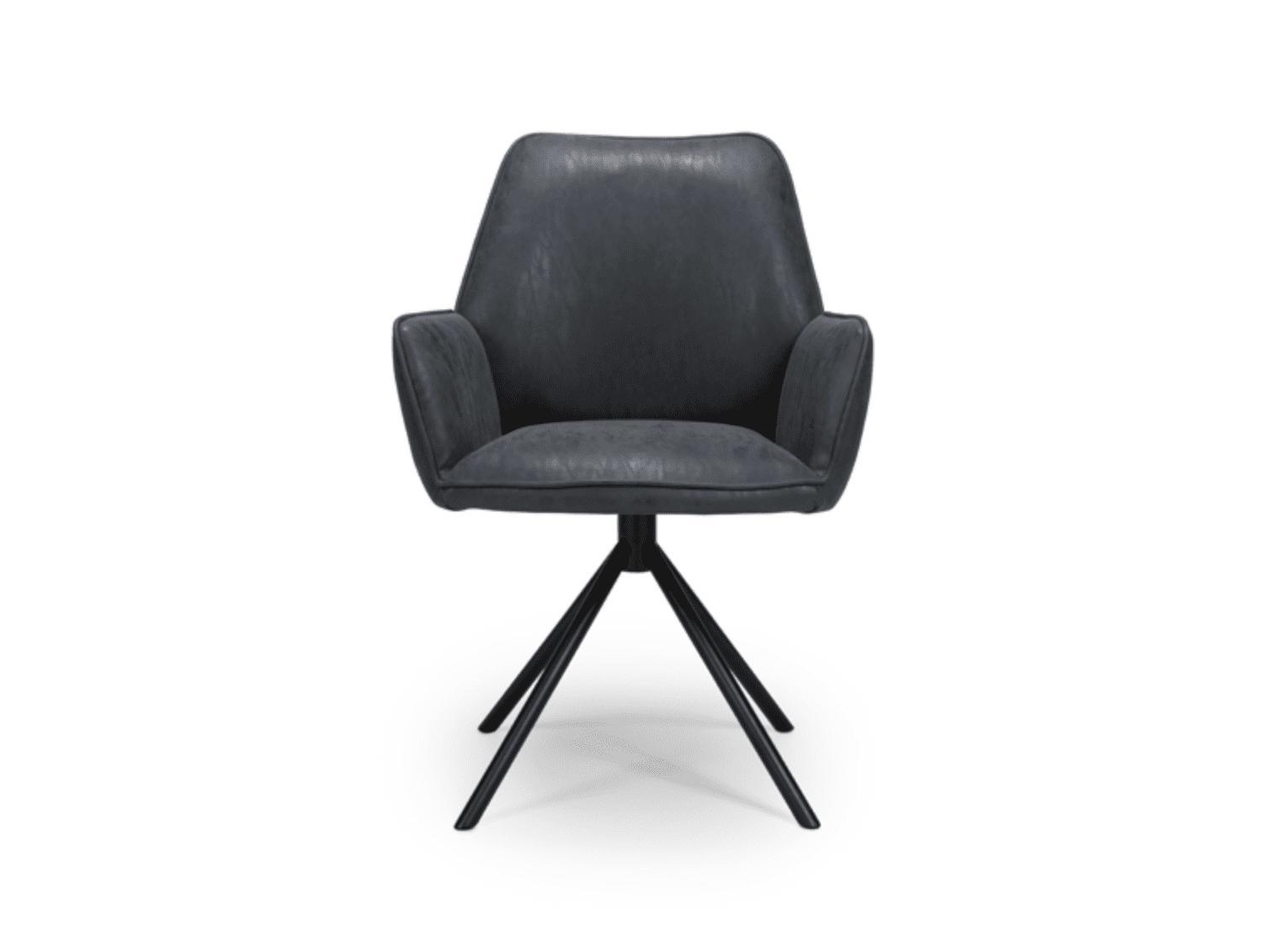 UNO chair wax grey