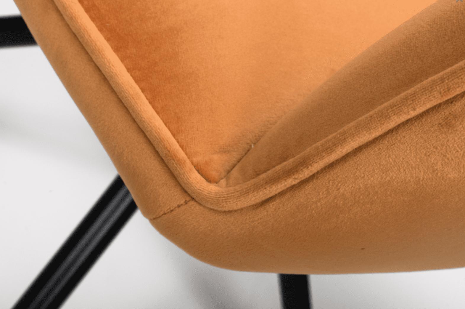 UNO chairs burnt orange seat