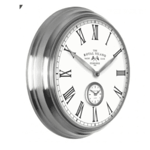 "Thomas Kent Greenwich wall clock 19"" royal island 2"