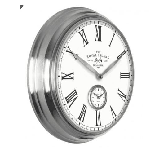 """Thomas Kent Greenwich wall clock 19"""" royal island 2"""