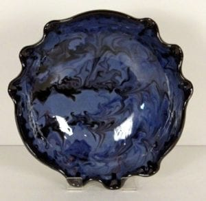 Blue Splashy bowl