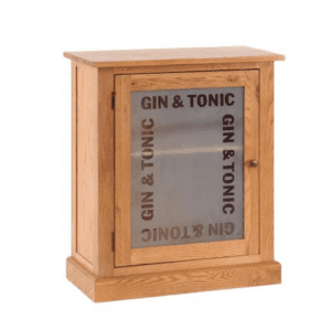 Gin and tonic drinks cabinet