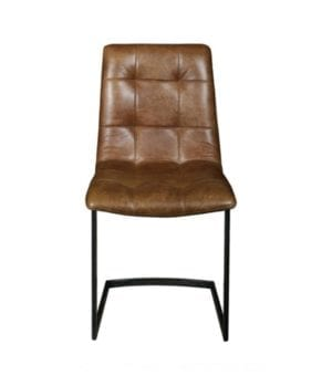 Hampton dining chair cerato leather